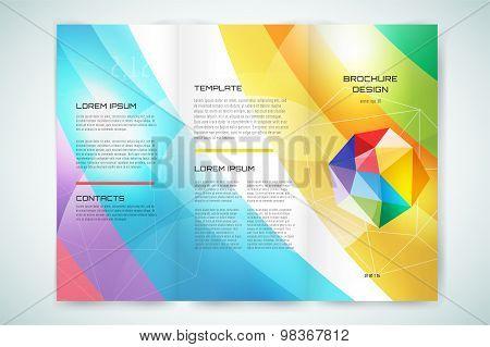 Vector globe brochure template. Abstract arrow design and creative magazine idea, blank, book cover
