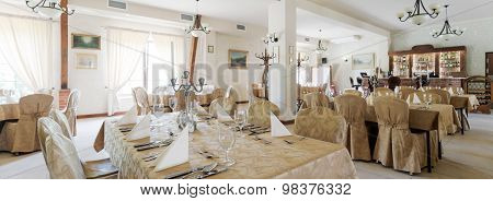 Dining Room In Hotel