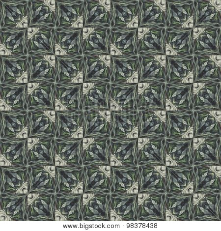 Seamless pattern with vegetal motives.