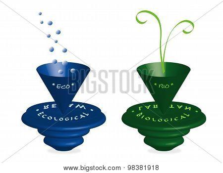 Bio and eco theme