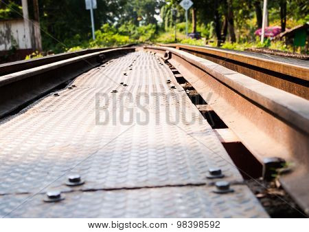 The Rails Are Made Of Steel