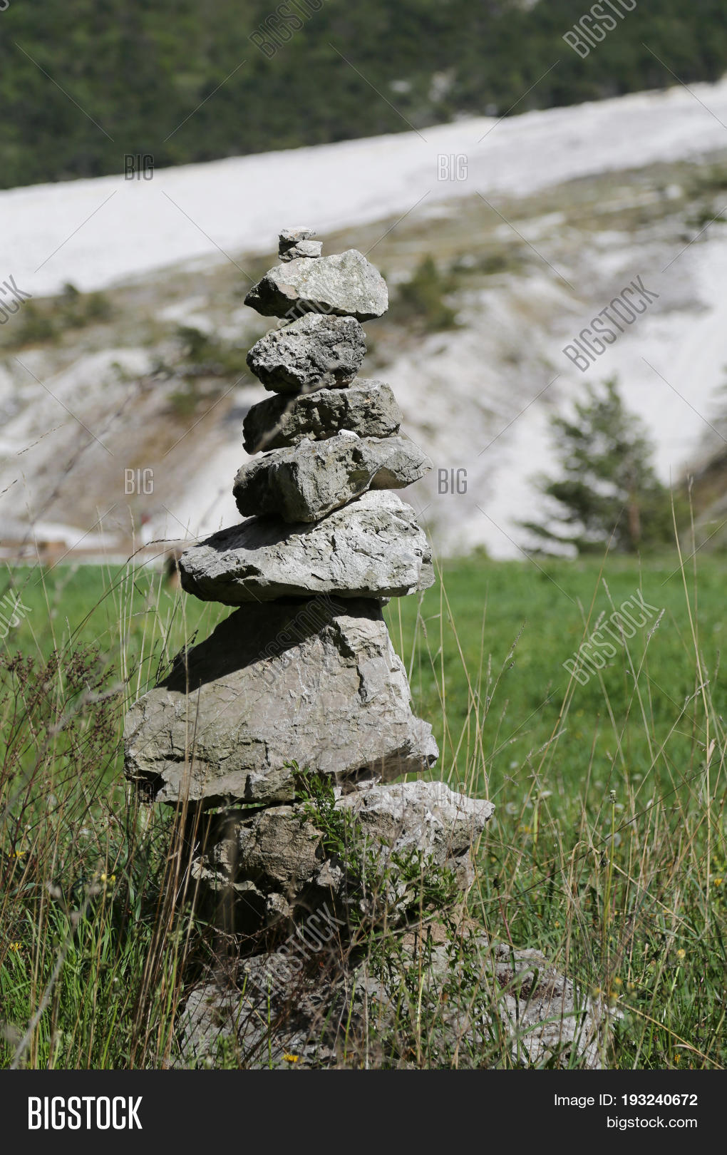 Pile Stones Like Image Photo Free Trial Bigstock