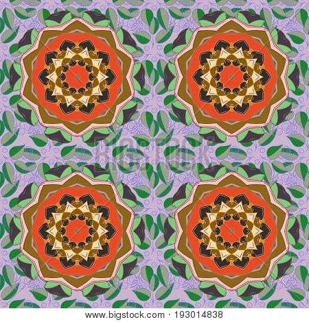 Vector mehndi pattern set of seamless borders on background. Traditional indian style ornamental floral elements for henna tattoo stickers flash temporary tattoo mehndi yoga design.
