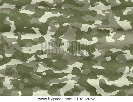 excellent background illustration of disruptive  camouflage material