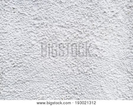 closeup of the white wall texture background