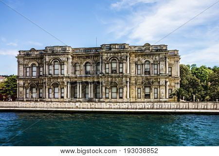 Istanbul Turkey - Dolmabahce palace building architecture