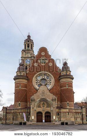 Malmo St Johannes Church in Sweden