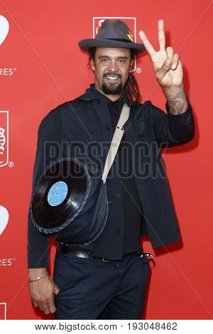 NEW YORK-JUN 26: Michael Franti attends the 13th Annual MusiCares MAP Fund Benefit Concert at PlayStation Theater on June 26, 2017 in New York City.
