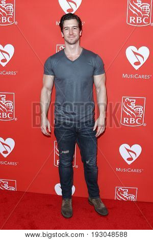NEW YORK-JUN 26: Evan Todd attends the 13th Annual MusiCares MAP Fund Benefit Concert at PlayStation Theater on June 26, 2017 in New York City.