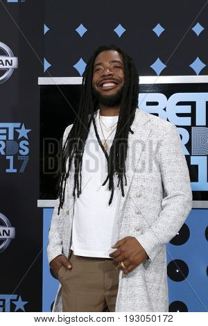 LOS ANGELES - JUN 25:  DRAM at the BET Awards 2017 at the Microsoft Theater on June 25, 2017 in Los Angeles, CA