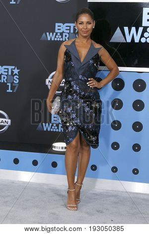 LOS ANGELES - JUN 25:  Salli Richardson-Whitfield at the BET Awards 2017 at the Microsoft Theater on June 25, 2017 in Los Angeles, CA
