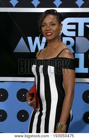 LOS ANGELES - JUN 25:  MC Lyte at the BET Awards 2017 at the Microsoft Theater on June 25, 2017 in Los Angeles, CA