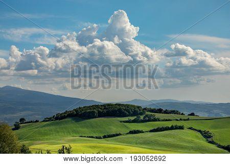 Tuscany scenery, Italy
