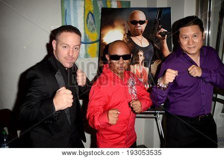 LOS ANGELES - JUN 25:  David Prak, Benny Tjandra at