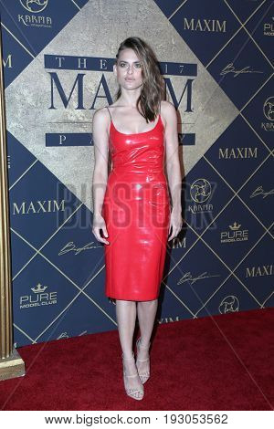 LOS ANGELES - JUN 24:  Lana Zakocela at the 2017 Maxim Hot 100 Party at the Hollywood Palladium on June 24, 2017 in Los Angeles, CA