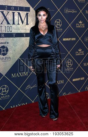 LOS ANGELES - JUN 24:   Chantel Jeffries at the 2017 Maxim Hot 100 Party at the Hollywood Palladium on June 24, 2017 in Los Angeles, CA