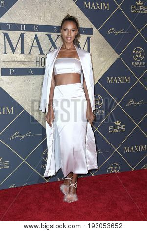 LOS ANGELES - JUN 24:  Jasmine Tookes at the 2017 Maxim Hot 100 Party at the Hollywood Palladium on June 24, 2017 in Los Angeles, CA