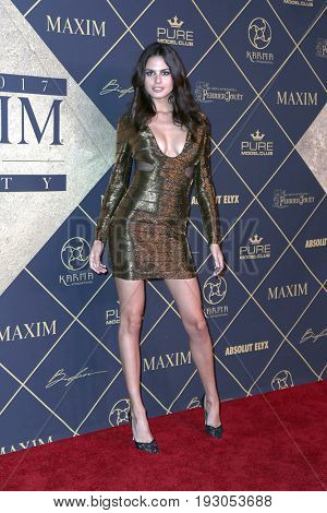 LOS ANGELES - JUN 24:  Bojana Krsmanovic at the 2017 Maxim Hot 100 Party at the Hollywood Palladium on June 24, 2017 in Los Angeles, CA