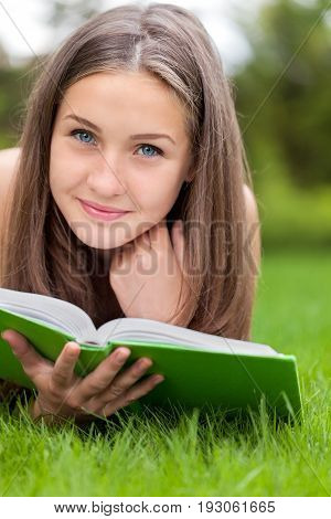Reading literacy education knowledge woman young woman reading book