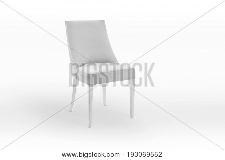 White chair, Clipping path included