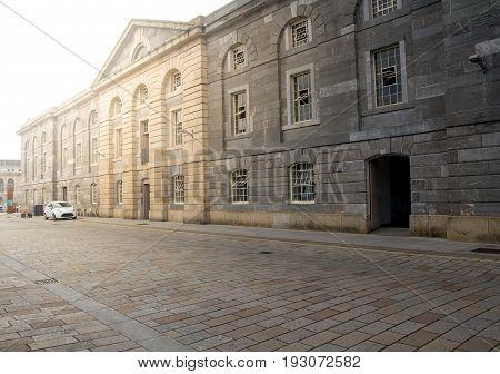 Royal William Yard in Plymouth. Devon. England
