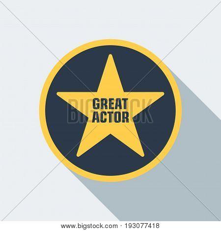 Cinema Star Icon