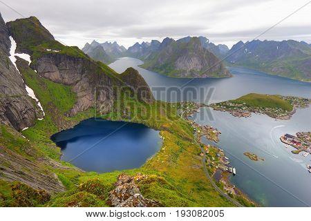 Arctic Norway Landscape