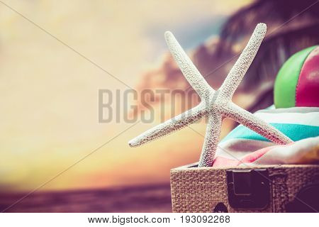 summer time hot season and travel concept