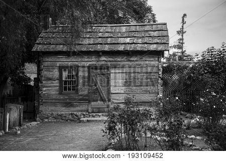 Old Wooden turn of the century home /  Shack
