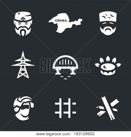 Tatar, peninsula, elder, power line, bridge, gas, special forces, prison, anti-tank barrage.