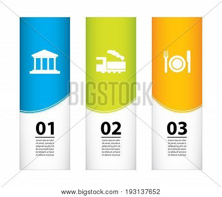 Special Holiday Banners, Tourist Flyer Design