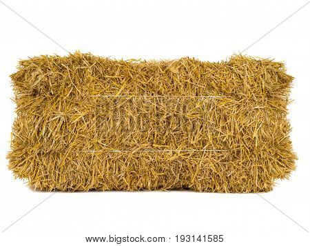 a hay isolated on a white background