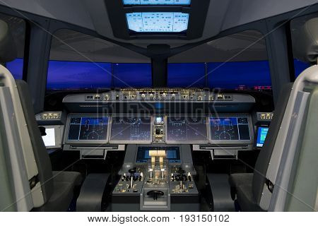 Russian Irkut Mc-21 Airliner Flight Simulator