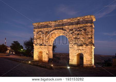 Roman Arch Of  Medinaceli, (2Nd-3Rd Century), Soria Province, Castilla-leon, Spain