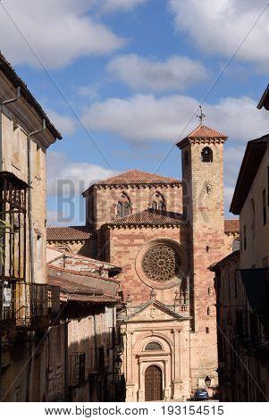 Cathedral of Siguenza Guadalajara province Castilla-La Mancha Spain