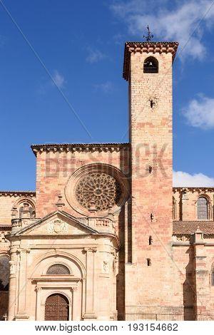 Cathedral Of Siguenza, Guadalajara Province, Castilla-la Mancha, Spain
