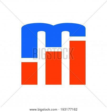 m letter logo design, m logo design