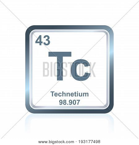 Chemical Element Technetium From The Periodic Table