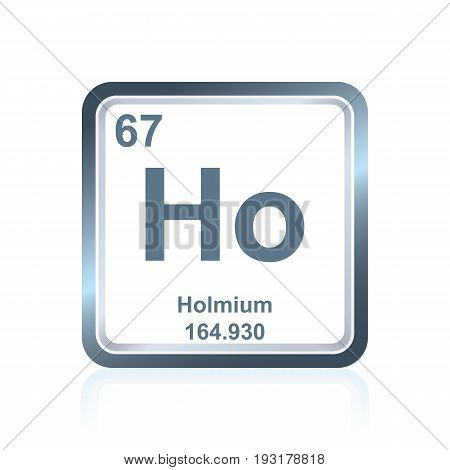 Chemical Element Holmium From The Periodic Table