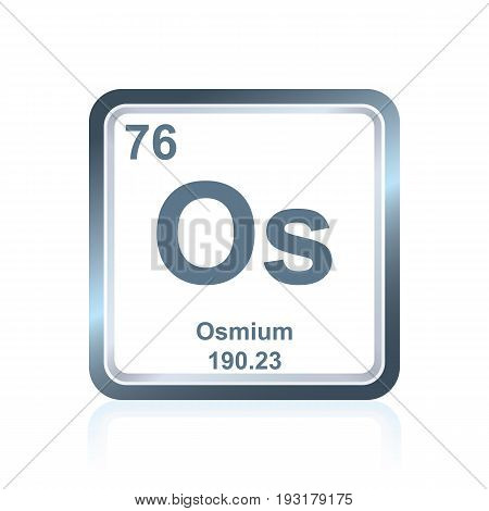 Chemical Element Osmium From The Periodic Table