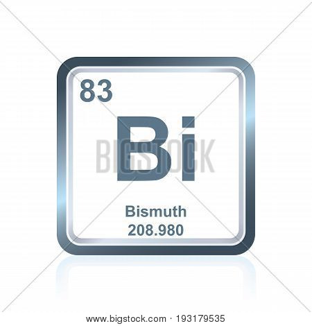 Chemical Element Bismuth From The Periodic Table