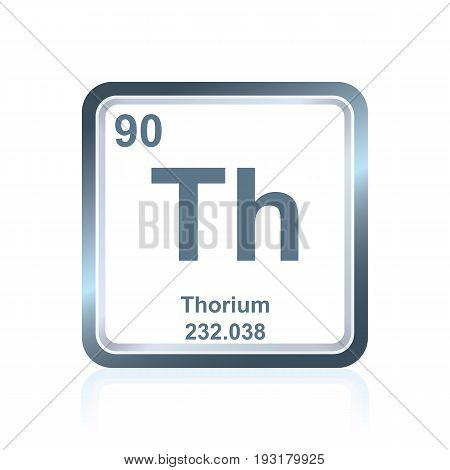 Chemical Element Thorium From The Periodic Table