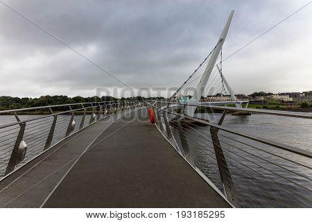 The Peace Bridge, Londonderry, Northern Ireland