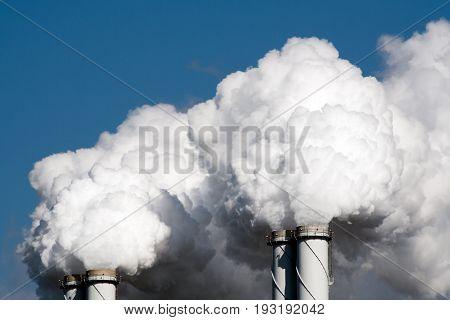 Air Pollution Power Plant