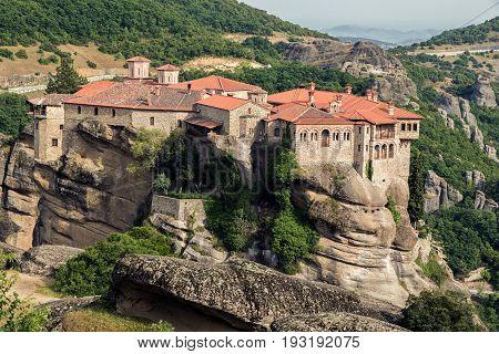 Landscape Meteora Greece