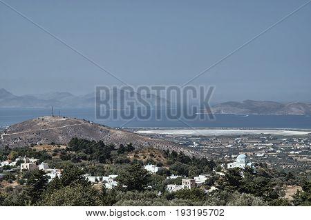 Salt Lake Alikes on the island of Kos in Greece