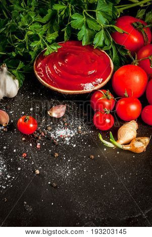 Tomato Sauce Or Ketchup With Ingredients