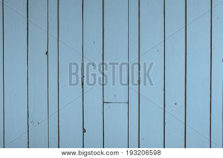 Blue reclaimed timber wall backgound