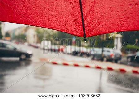 Rain In The City