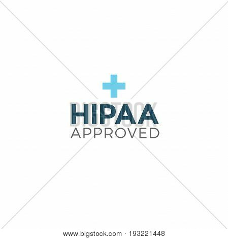 HIPAA Compliance Icon Graphic - APPROVED with plus image